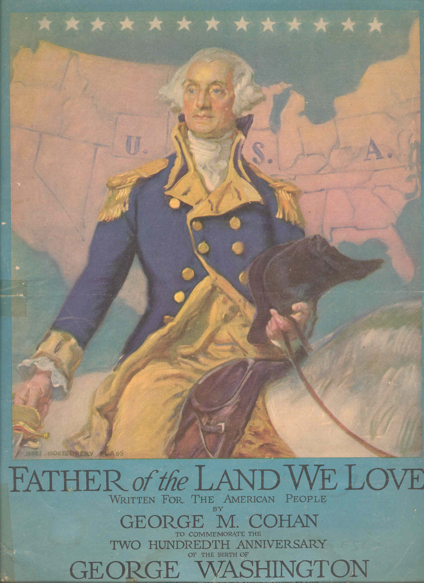 Father of the Land We Love, Front Cover