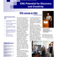 3.8 C-2 CNU Potential for Discovery and Creativity Spring 2015
