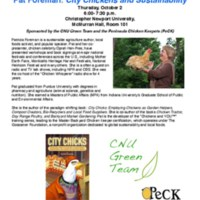 5.3 ZZZU Pat Foreman: City Chickens and Sustainability