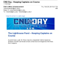 2.2 O CNU Day - Keeping Captains on Course