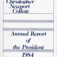 1.4 C-2 Annual Report of the President, 1984