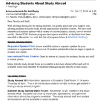 2.40 D Advising Students About Study Abroad