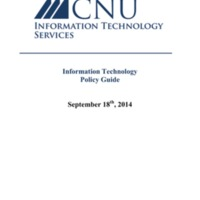 2.10 C Information Technology Policy Guide 2014