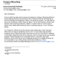 2.51 Campus Recycling
