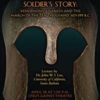 1.9 ZA A Greek Soldier's Story: Xenophon's Anabasis and the March of the Ten Thousand, 401-399 BC