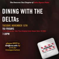 2.33 G-1 Dining with the Deltas 112016