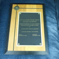 1.12 E Alexander Brown Plaque