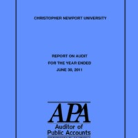 2.17 A Report on Audit for Year Ended June 30, 2011