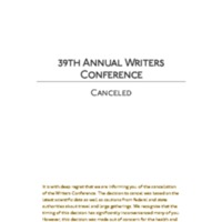 1.9 I CNU's 39th Annual Writers Conference Cancelled.pdf