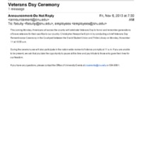 1.9 ZC Veterans Day Ceremony (2013)