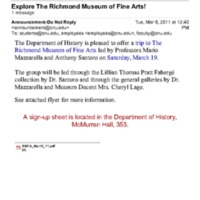 3.23 D Explore The Richmond Museum of Fine Arts!