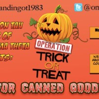 5.2 D Operation Trick or Treat: Canned Goods