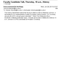 3.23 D Faculty Candidate Talk - Rebecca Johnson