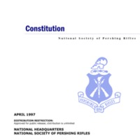5.3 ZU National Constitution - National Society of Pershing Rifles