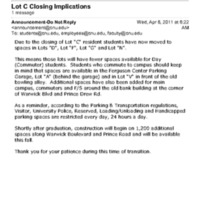 2.20 B Lot C Closing Implications