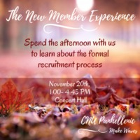 2.33 G-1 New Member Experience 2016