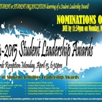 2.33 D 2014-2015 Student Leadership Awards Ceremony
