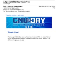 2.2 O A Special CNU Day Thank You