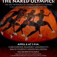 1.9 ZA The Naked Olympics: The Lost Pleasures of History's Greatest Festival