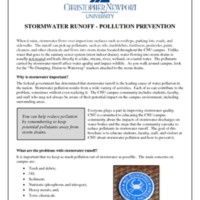 2.5 D Email: Stormwater Runoff - Pollution Prevention
