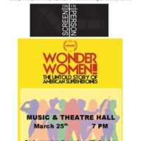5.3 ZZP On Screen/In Person presents WONDER WOMEN! The Untold Story of American Superheroines