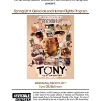 2.48 A Spring 2011 Genocide and Human Rights Program (Tony)