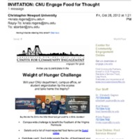 2.46 B-1 CNU Engage Food for Thought (2012)
