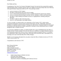 5.3 ZZZZE Recognition Letter - Linux User Group at Christopher Newport University
