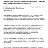 2.21 D-6 Compensation Study Informational Sessions for Classified, Hourly and Administrative Professional