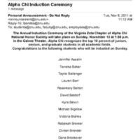 5.2 O Alpha Chi Induction Ceremony