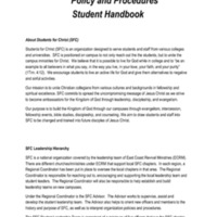 5.3 ZZZZZB Students For Christ (SFC) Policy and Procedures<br />