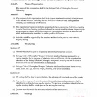 5.3 J Constitution of the Biology Club of Christopher Newport University