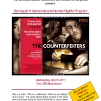 5.3 ZZZZX Spring 2011 Genocide and Human Rights Program - The Counterfeiters