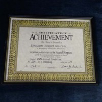 3.32 A Certificate of Achievement