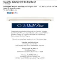 5.1 C-7 Save the Date for CNU On the Move!